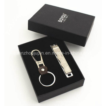 OEM Logo Manicure Key Chain Set for Promotional Gift